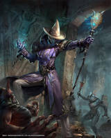 Mobius Final Fantasy Black Sorcerer by yuchenghong