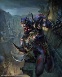 Mobius Final Fantasy Assassin by yuchenghong