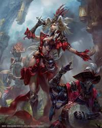 Mobius Final Fantasy Gandharva by yuchenghong
