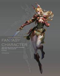 Paint the Fantasy Character by yuchenghong