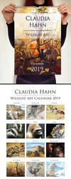 2019 calendar by Heliocyan