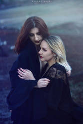 Lisa and Lauren by HeleneRock