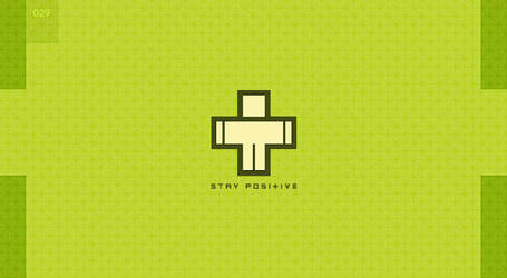 day 29 - stay positive by 365logoproject