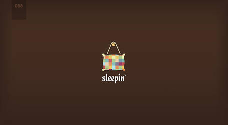 day 88 - sleepin by 365logoproject