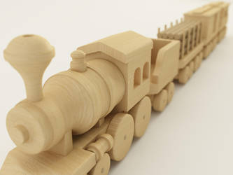Toy Train Depth of Field by PLutonius