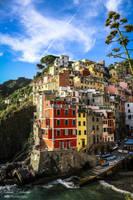 Colors of Riomaggiore by mydarkeyes
