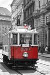 Tram in Prague by mydarkeyes