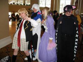 Pandora Hearts cosplay group by tsumeuchiha