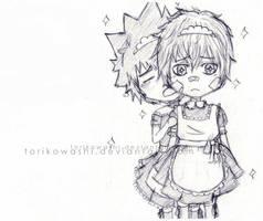 How embarrassing... by torikowashi