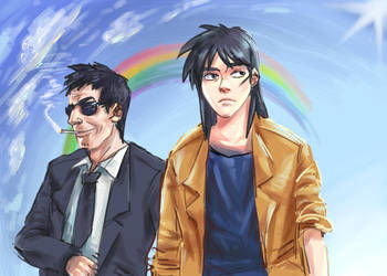 Kaiji - laziness by weaselyperson