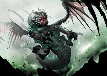 Dragon by Mellon007
