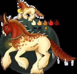 WinterSolstice Mystery Foal Equimine#2:Jayna-Milan by Silverhart-of-Eld