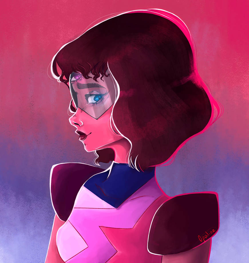 A painting of one of my favorite gem of Steven Universe ;u; Hope you like it ~Art by me ♫