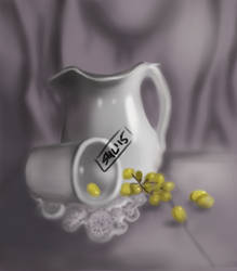 Still Life Practice Digital by Heebi-Chan