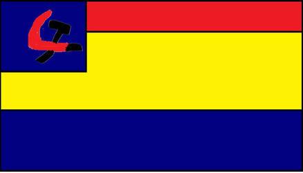 flag of the communist republic ofcaletakya by brewinxtotaldrama