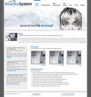 BlueSkySystem Interface by tysmin