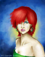 Self portrait by tysmin