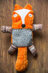 Red Fox Plush by tysmin