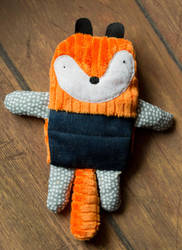 Squirell Handmade Plush by tysmin