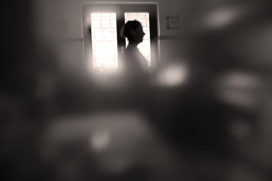 Men in a dark room