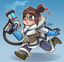 Mei Overwatch by Heriplayer