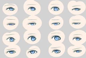 Eye Reference by Q-Kyun