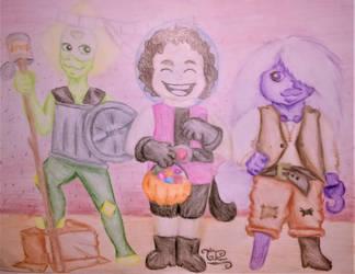 Happy Halloween 2018 by lotrfanforlife