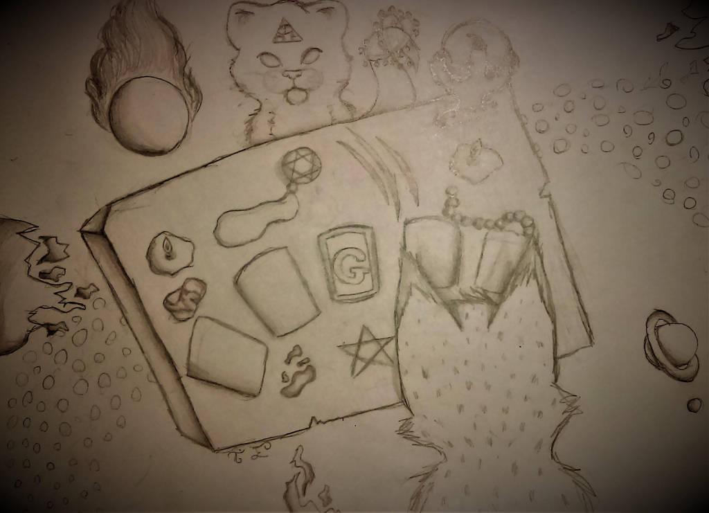 Goretober Day 31 Tarot by lotrfanforlife