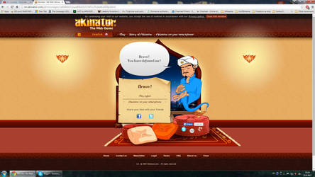 Akinator Beaten At First Try by Ivanssj4