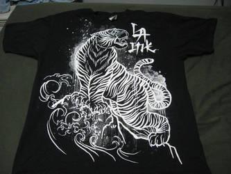 Tiger T-Shirt 2 by ShockWaveX2