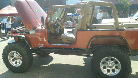 1981 Jeep CJ8 Scrambler by ShockWaveX2