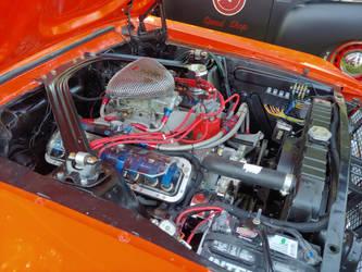 68 Mustang's Engine by ShockWaveX2