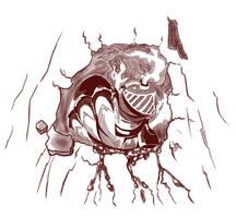 Here's Mole Knight! by mangamaxx