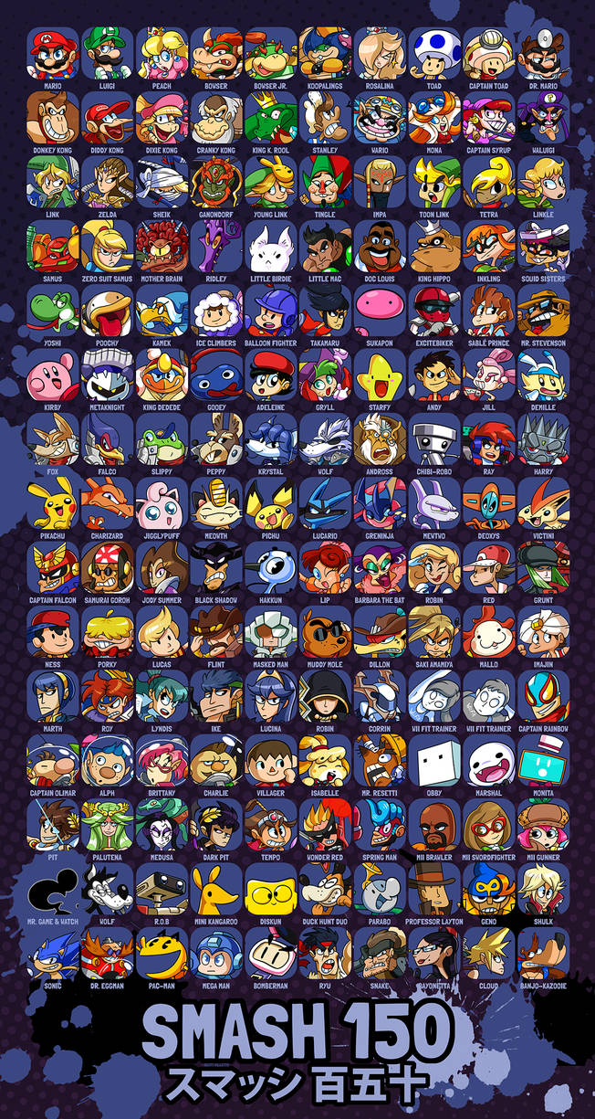 SMASH 150 - NINTENDO ALL-STARS by professorfandango