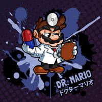 SMASH 150 - 010 - DR. MARIO by professorfandango