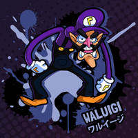 SMASH 150 - 020 - WALUIGI by professorfandango