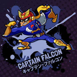 SMASH 150 - 081 - CAPTAIN FALCON by professorfandango