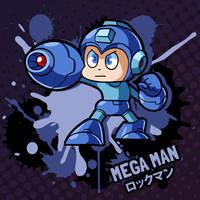 SMASH 150 - 144 - MEGA MAN by professorfandango