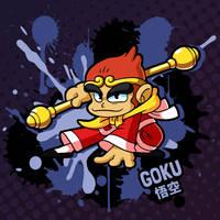 SMASH 150 - 169 - GOKU by professorfandango