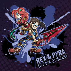 SMASH 150 - 188 - REX AND PYRA by professorfandango