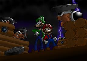 Subterranean Doomship Blues by professorfandango