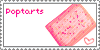 Poptarts Stamp by Dinosaur-Pants