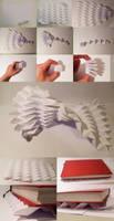 Texture, paper compression by Jiekai
