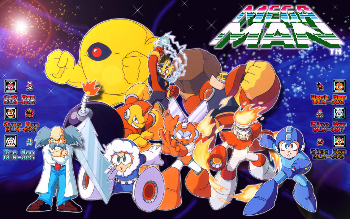 Megaman wallpaper 16:10 by tam6231990