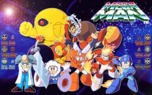 Megaman wallpaper 16:10 by tam6231990