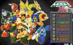 Megaman 2 wallpaper 16:10 by tam6231990