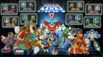 Megaman 5 wallpaper 16:9 by tam6231990