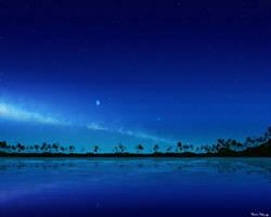Tropical Paradise (Night Version) by stargateatl
