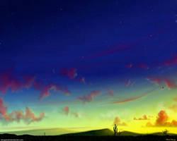 Western Skies by stargateatl