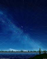 Milky Way Star Trails (Starburst) by stargateatl